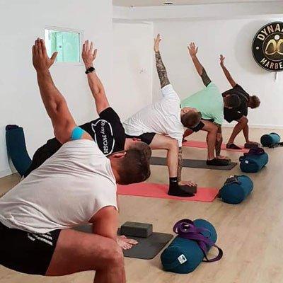 Yoga for men, Surrey, London.