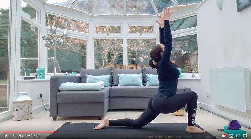 Dynamic Hatha Flow Online Yoga Class