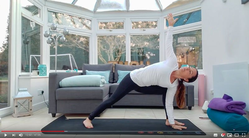 hatha Flow Free Yoga Class Online